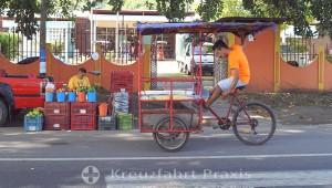 Puerto Corinto - Straßenhandel