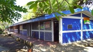 Schulgebäude in Puerto Corinto