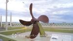 Villarino's Propeller - Schiffsschraube des Schiffs Villarino