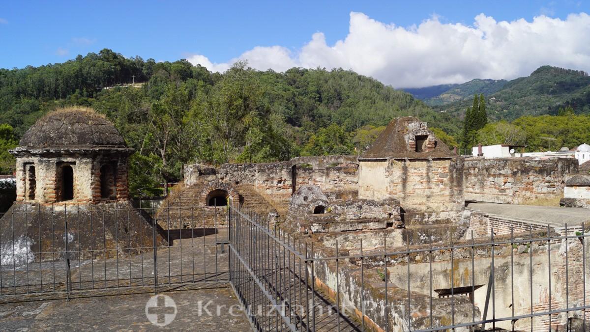 Antigua - Ruinen des Convento de Capucinas