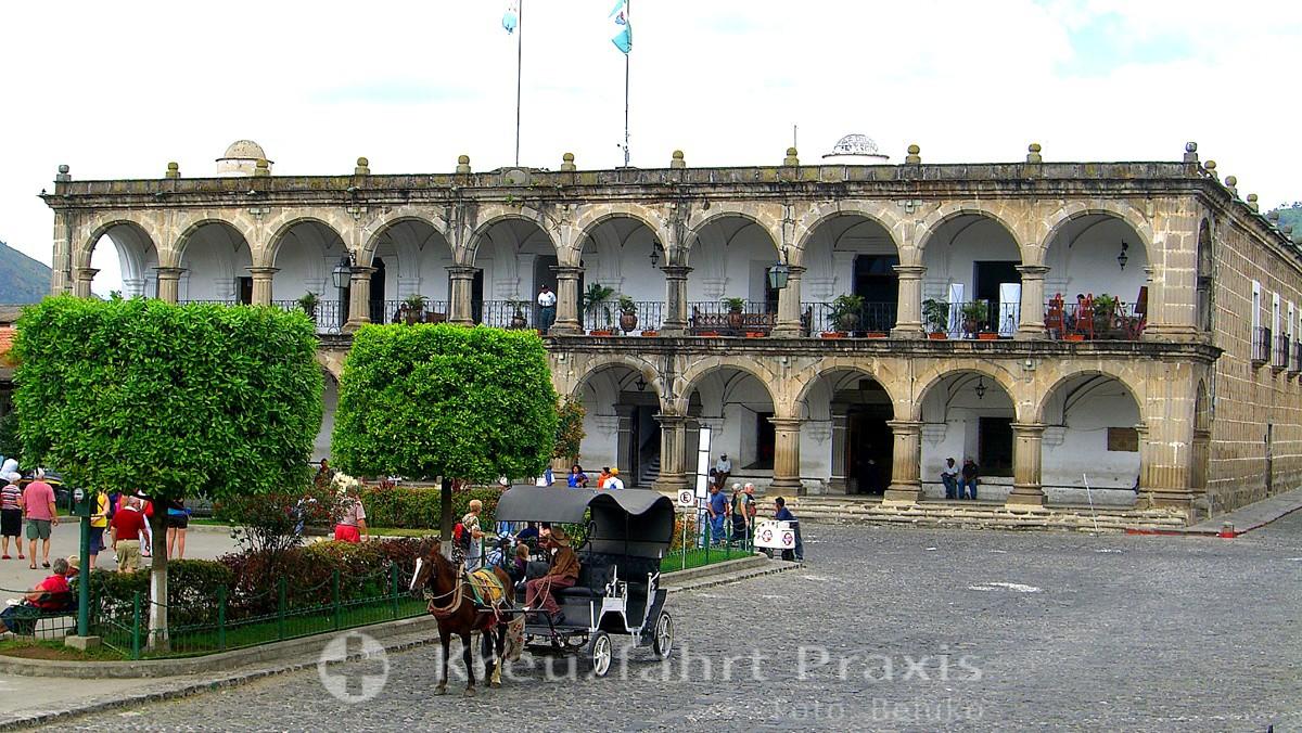 Antigua - das Rathaus