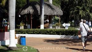 Puerto Quetzal - Gelände hinter dem Cruise Terminal