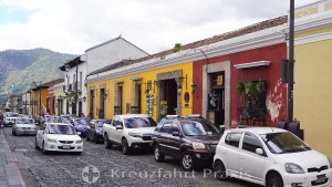 Antigua - Straßenzeile