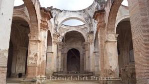 Antigua - Ruinen der Kathedrale San José