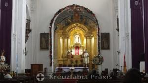 Antigua - Kirche de La Merced - der Altar