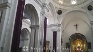 Antigua - Kirche de La Merced - das Kirchenschiff