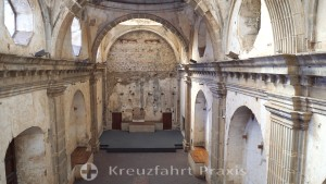 Antigua - Convento de Capucinas - der Hohe Chor