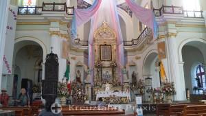 Parroquia de Nuestra Señora de Guadalupe - Altar
