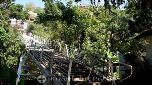 Puerto Vallarta - Gringo Gulch stair bridge