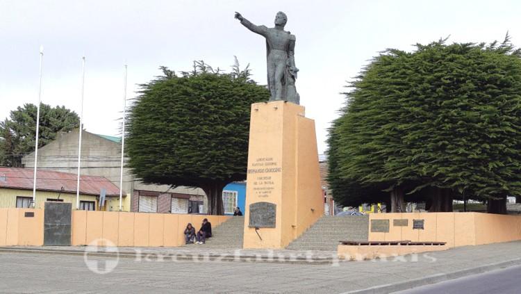 Monument des chilenischen Freiheitskämpfers O'Higgins