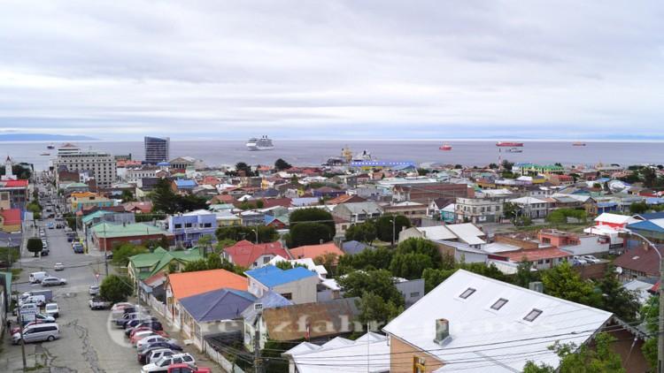 Blick auf Punta Arenas