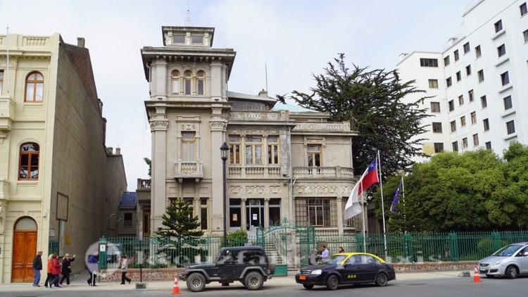 Palacio Montes - repräsentatives Bürgerpalais im Zentrum