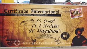 Ich durchquerte die Magellan-Straße