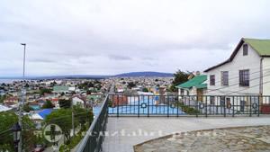 Blick auf die südlichen Stadtteile von Punta Arenas