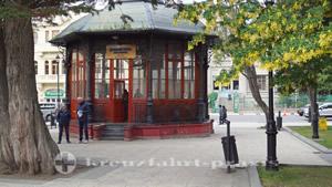 Touristen Information auf der Plaza de Armas