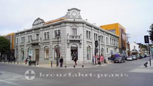 Ladengeschäft in der Straße Gob. Carlos Bories