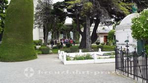 Zentralgebäude des Cementerio Municipal