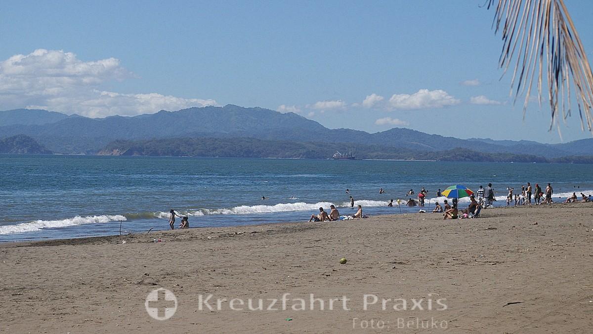 Blick auf die Halbinsel Nicoya