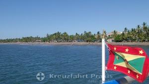 Puntarenas - Strand neben dem Pier der Kreuzfahrtschiffe