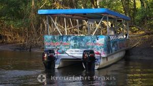 Bootstour auf dem Rio Tárcoles
