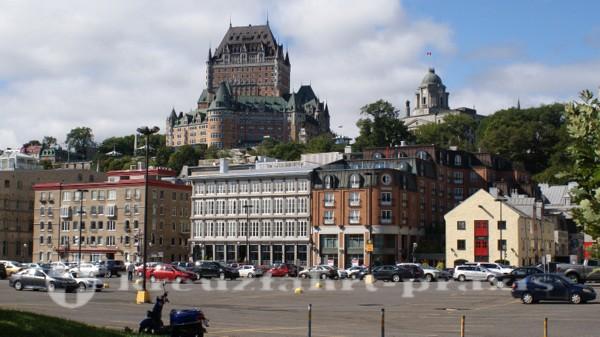 Québec - Vieux Port und Chateau Frontenac
