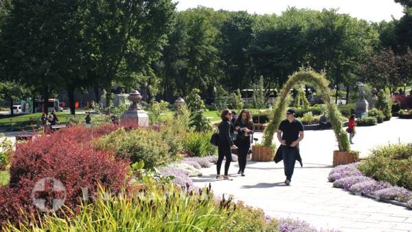 Québec - Parc de l'Esplanade