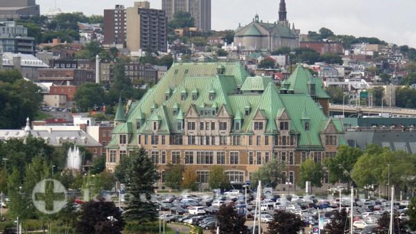 Québec - Hauptbahnhof - Gare du Palais
