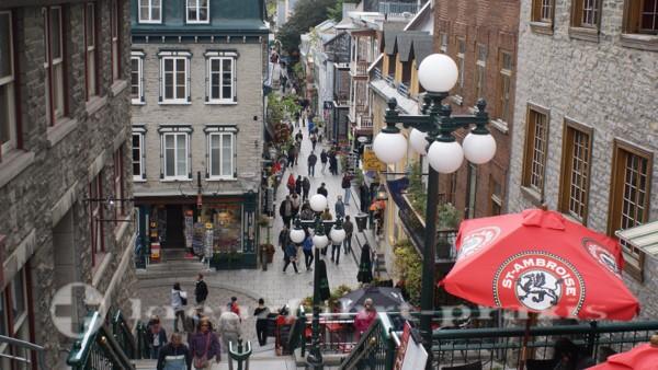 Québec - Rue du Petit-Champlain