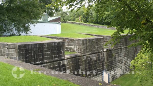 Québec -Stadtmauer an der Porte Saint Louis
