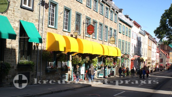 Quebec - Rue Saint Louis