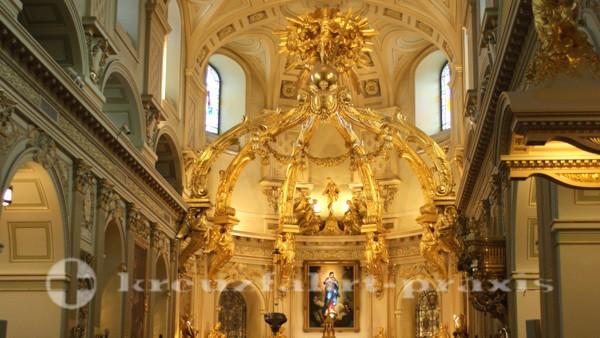 Quebec - Altar der Kathedrale Notre Dame de Quebec