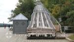 Québec -Eisrutschbahn an der Terrasse Dufferin