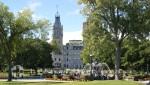 Quebec - Parc de L'Esplanade und Hotel du Parlement