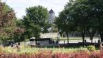 Quebec - Gartenanlage vor dem Parlamentsgebäude