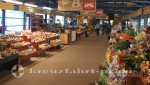 Quebec - Obst und Blumen im Marché du vieux Port