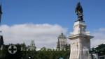 Quebec - Statue des Samuel du Champlain