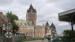 Quebec - Terrasse Dufferin und Chateau Frontenac