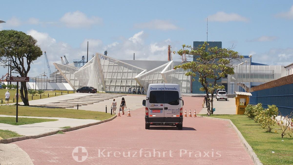 Recife's modern cruise terminal