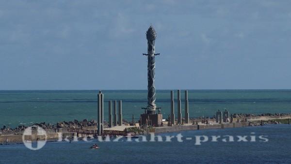 Recife - Zeppelinturm im Patio das Esculturas
