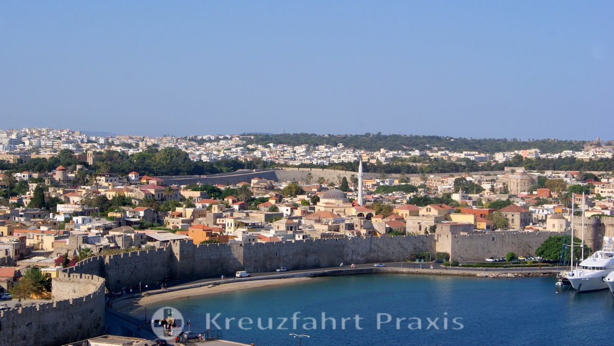 Rhodes City - the fortified old town
