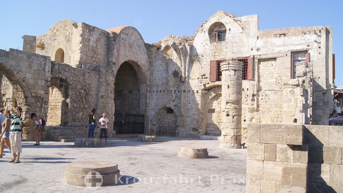 Rhodes City - the Church of Our Lady