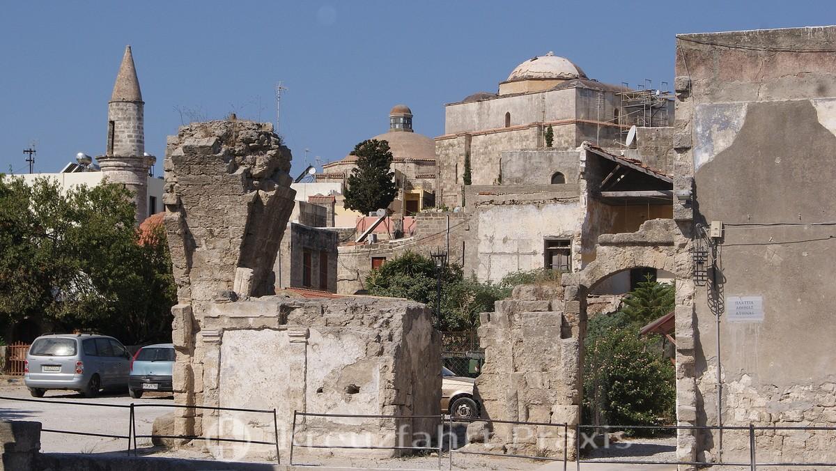 Rhodes Town - Platia Athinas