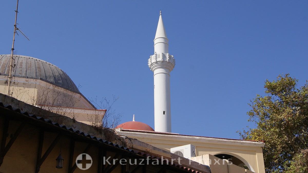 Rhodes City - Minaret of the Suleyman Pasha Mosque