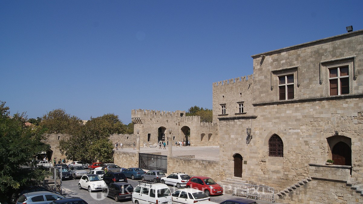 Rhodes - the Palace of the Grand Masters