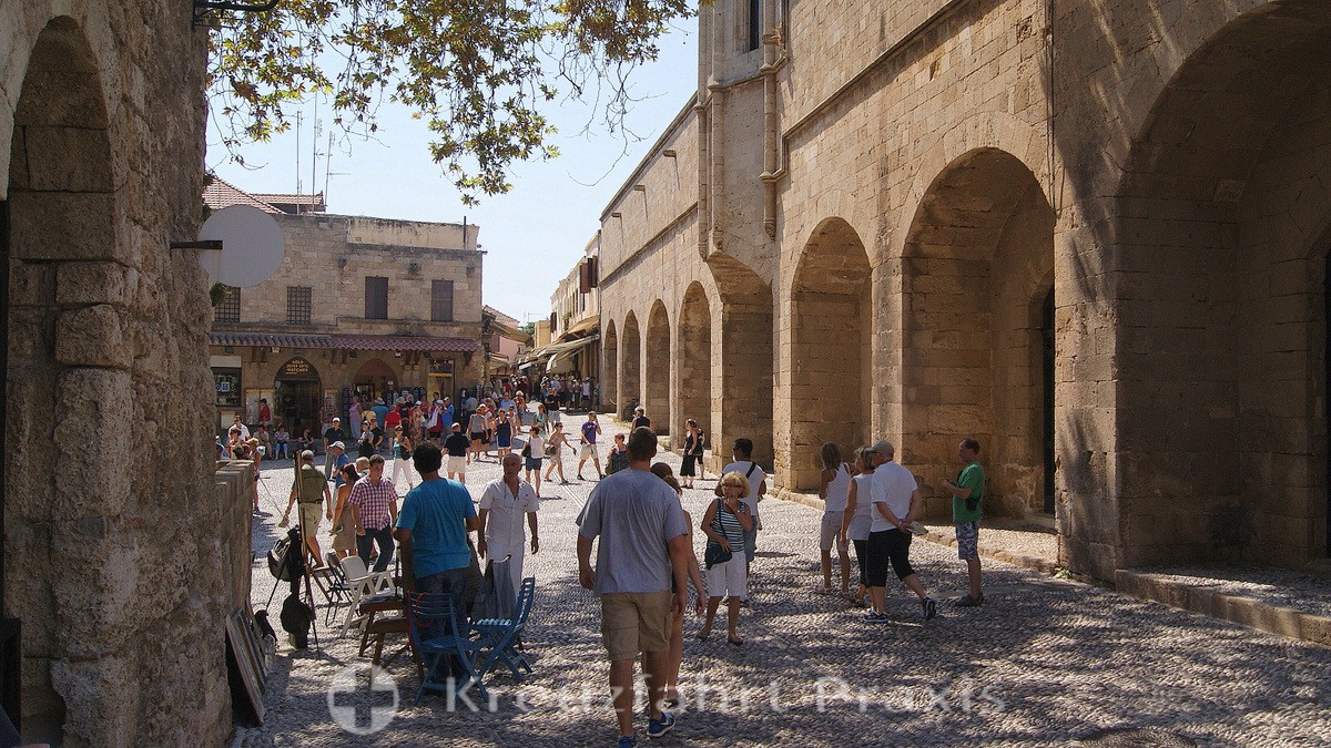 Rhodes City - the Archaeological Museum