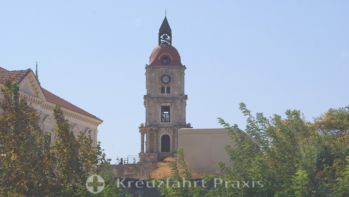 Rhodes City - the clock tower