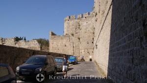 Rhodes City - the city walls