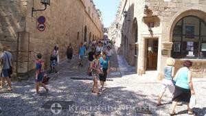 Rhodes City - the Knight's Street