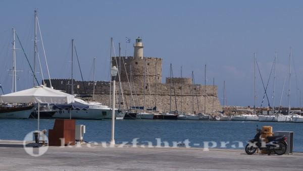 Rhodos - Festung Agios Nikolaos