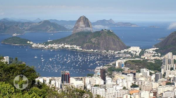 Rio de Janeiro - Blick auf den Morro da Urca und den Zuckerhut